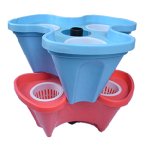 Self-watering pot system