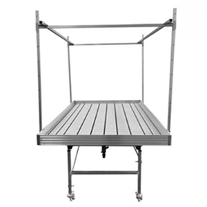 Rolling Bench With Trellis