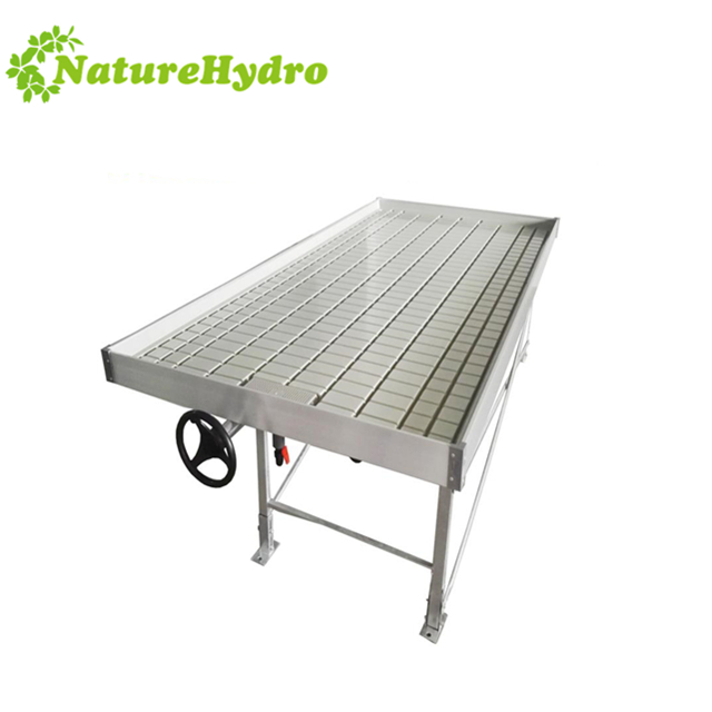 Advanced flood table with rolling benches Featured Image