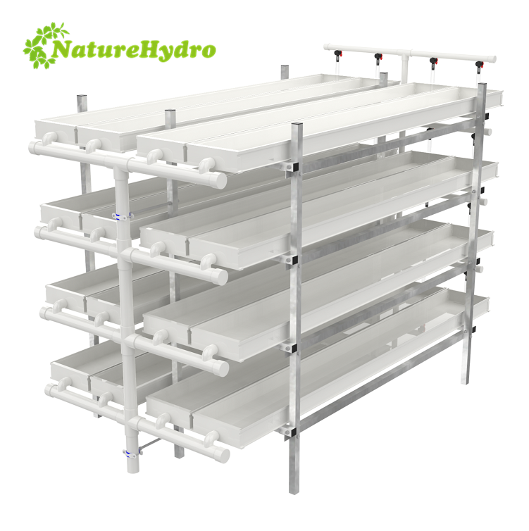 Daily output 35kg/layer hydroponic fodder system for livestock Featured Image