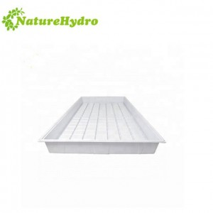 Indoor farming seedling trays nursery trays hydroponic flood tray