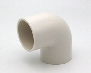 PVC pipe with fittings