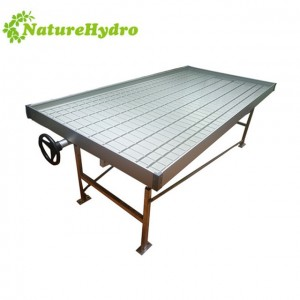 Hydroponics equipment hydroponic flood table hydroponic rolling bench greenhouse