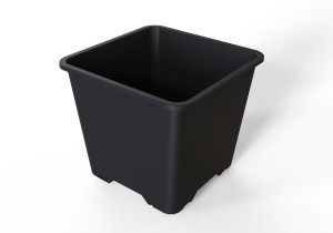 25L / 7 gallon square pots