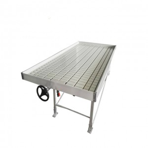 Hydroponic Ebb and Flow Trays,Latest Flood Greenhouse Hydroponic Grow Table