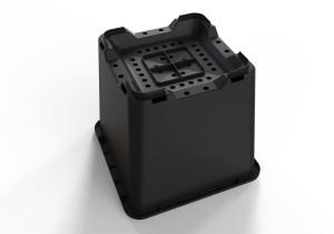 25L / 7 gallon square pots
