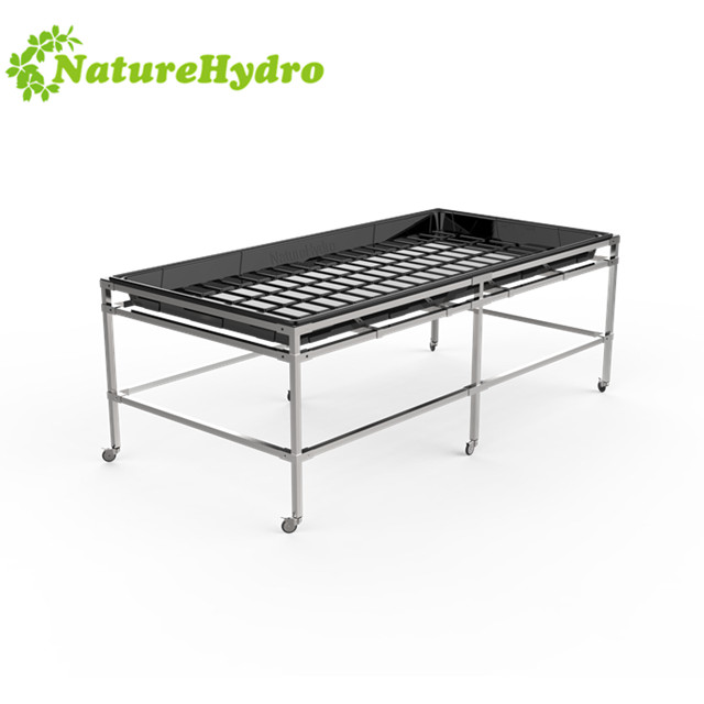 Hydroponic Growing Sytems Flood and Drain Racks Featured Image