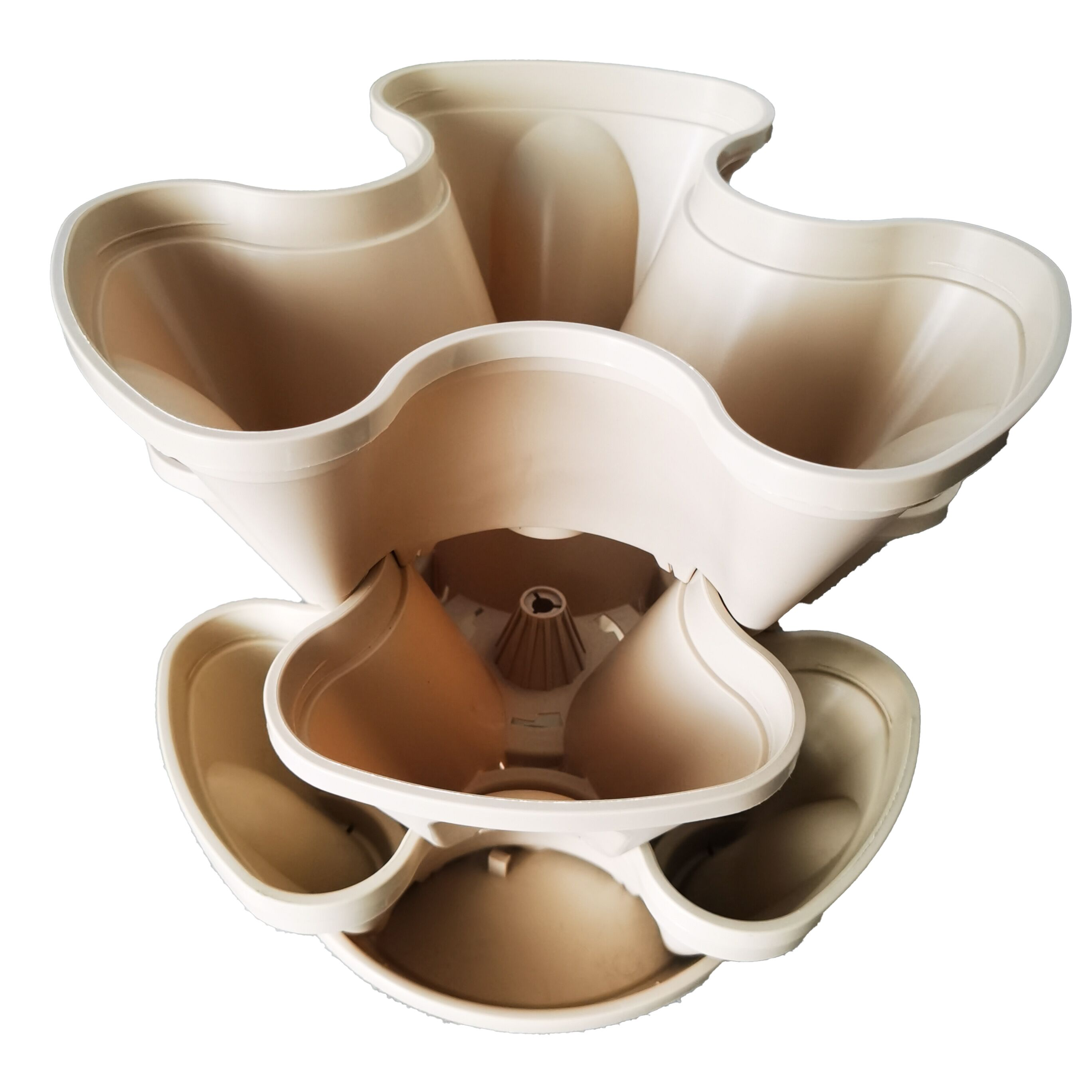 3 Petal Stacking Pot For Indoor Gardening Featured Image