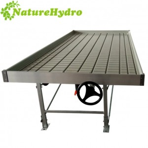 Hydroponic Ebb and Flow bench 4×8 FT