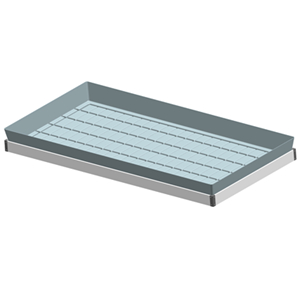 4x8ft 5″ Ebb Flow Tray