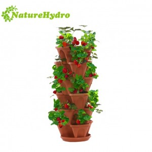 Commercial Agricultural Stackable Pots Planting