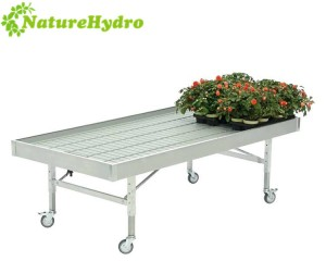 Display and sales bench for home garden