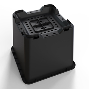 25L Square Blueberry Bucket